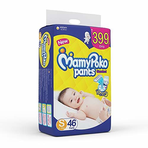 MamyPoko Pants Extra Absorb Diaper, Small (Pack of 84) & MamyPoko Pants Standard Diapers, Small (Pack of 46)