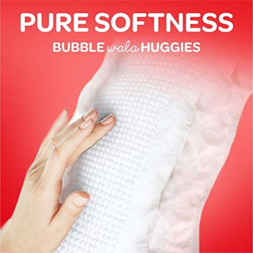 Huggies Wonder Pants Comfort Pack Extra Large Size Diapers (94 count) and Huggies Baby Wipes - Cucumber & Aloe Pack of 2 (144 wipes)