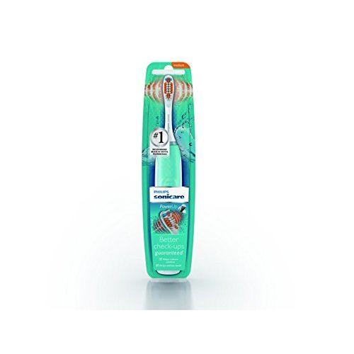 Philips Sonicare HX3631/06 Powerup Battery Toothbrush, Medium, Scuba Blue