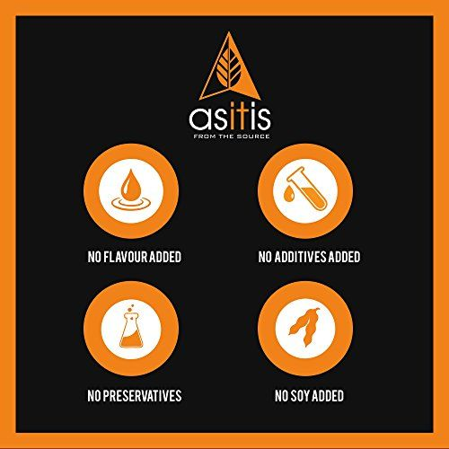 Asitis Nutrition AS-IT-IS Nutrition Whey Protein Isolate 90% - 1 kg | Protein 27g & BCAA 5.9g per serving