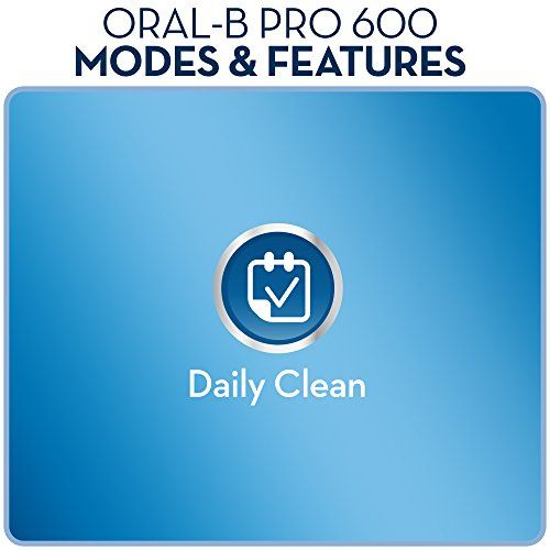 Oral B Pro 600 Cross Action Electric Rechargeable Toothbrush