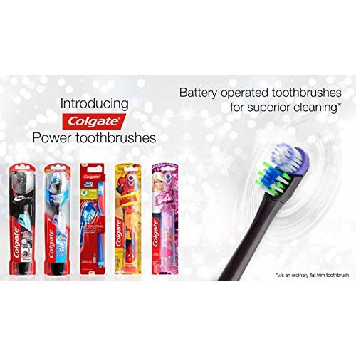 Colgate 360 Charcoal power battery toothbrush 1pc