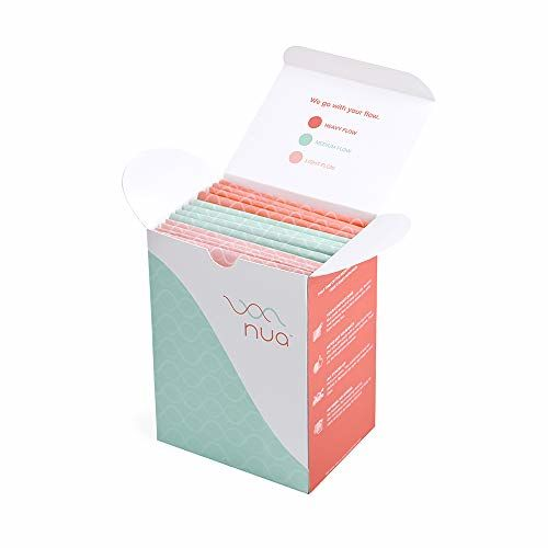 Nua Sanitary Pads - Pack Of 12 (XL+L+R)