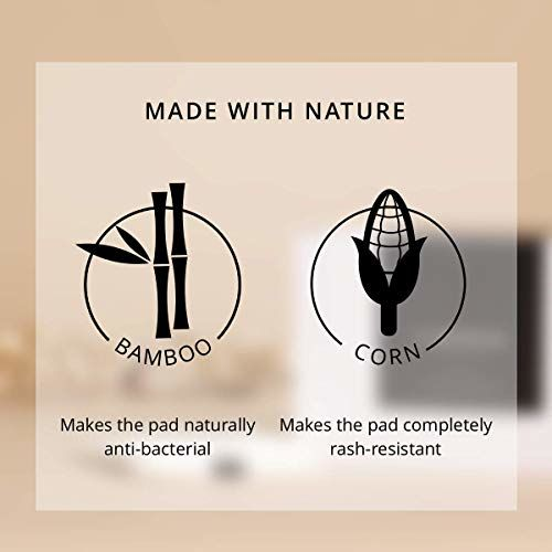 Carmesi Natural & Biodegradable Sanitary Pads - 30 Pieces (15 Regular + 15 XL)
