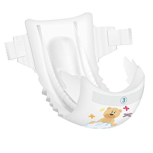 Bambo Nature Premium Baby Diapers - Medium Size, 66 Count, for Toddler (3-10 Months) - Super Absorbent and Eco-Friendly