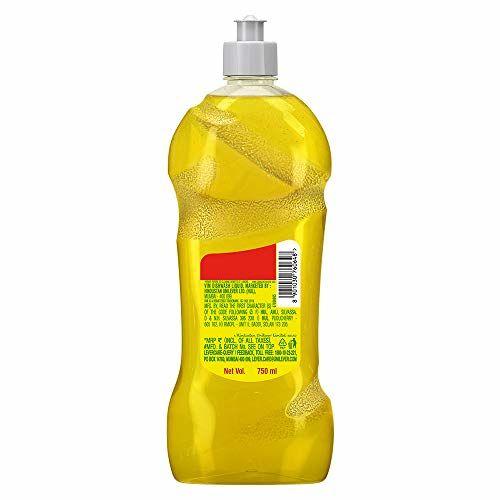 Vim Dishwash Gel - 750 ml (Lemon)