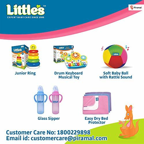 Little's Soft Cleansing Baby Wipes (Pack of 5, 30 Wipes)