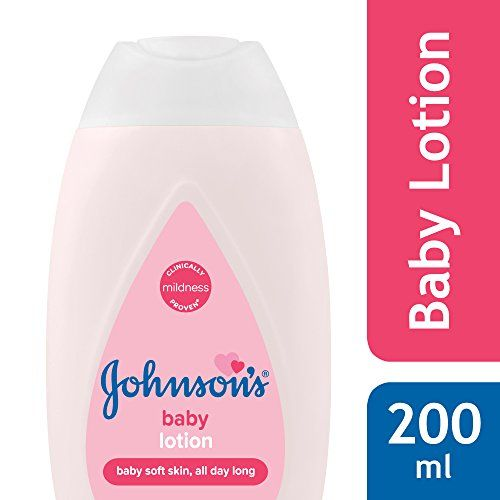 Johnson's Baby Lotion 200ml & Baby Wipes, Pack of 2 (160 Wet Wipes) Combo