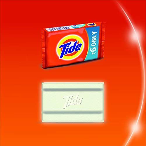 Tide Detergent Bar Soap, 200g (Pack of 5)