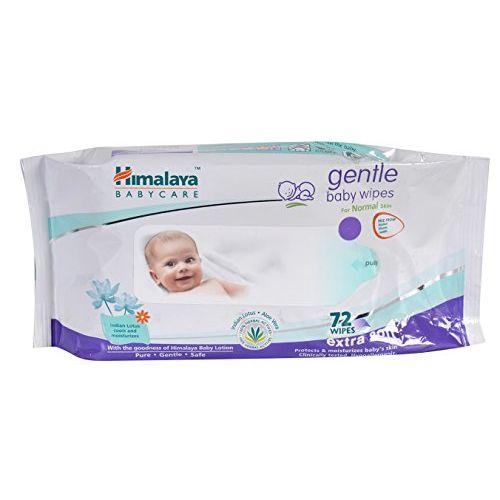 Himalaya Baby Shampoo (400 ml) & Himalaya Gentle Baby Wipes (72 Count, Pack of 3)