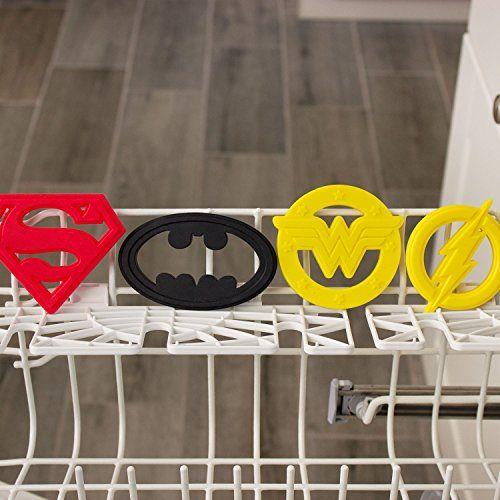 Bumkins Silicone Baby Teether, DC Comics, Batman