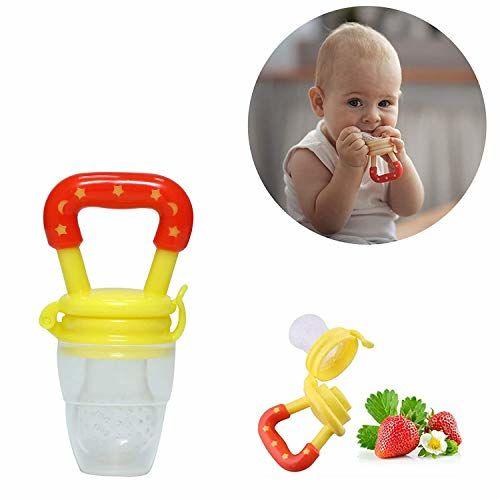 Kidzvilla Baby Boy's and Baby Girl's Silicone Dental Care Teether (Yellow_Multi)