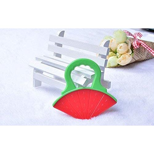 THE LITTLE LOOKERS Single Silicone Watermelon Fruit Shape Teether for Baby
