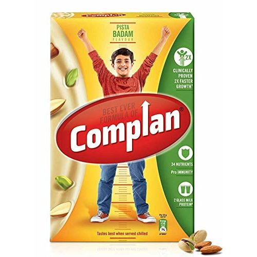 Complan Nutrition and Health Drink Pista Badam, 500gm (Carton)