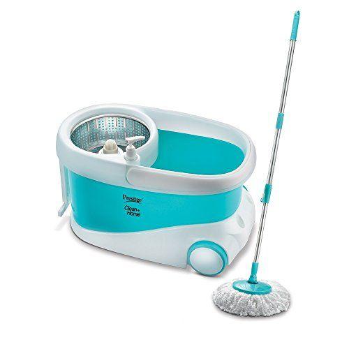 Prestige Clean Home PSB 10 Plastic Magic Mop (Blue)