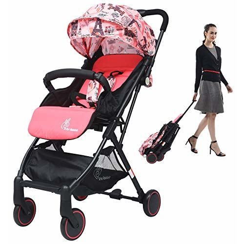 R for Rabbit Pocket Lite Portable Graco Click Connect Stroller And Car Seat Travel Friendly Pre Installed Baby Stroller
