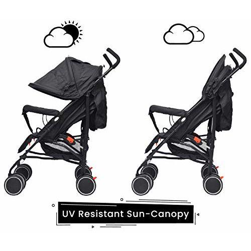 R for Rabbit Chicco Stroller Light Stroller Compact Travel Friendly Pram for Baby Kids
