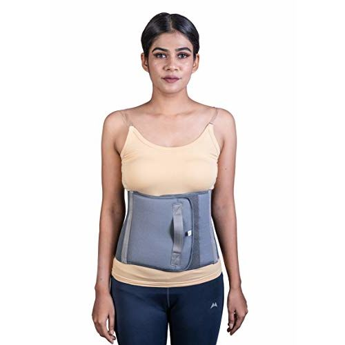 Wonder Care WC Full Elastic Binder After C-Section Delivery Maternity Belly Trimmer Fat Burner Operative Postpartum Recovery Girdle Abdominal Belt for Women for