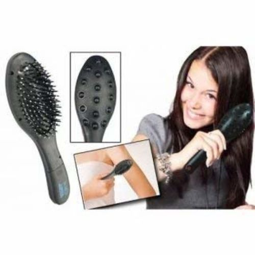 QOZWEID Magnetic Vibra Plus Head Massager Hairbrush with Double Speed in Treatment | hair massager | head massage tool | head massager vibration | head massager