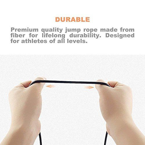 Aurion Skipping-Rope Jump Skipping Rope for Men, Women, Weight Loss, Kids, Girls, Children, Adult - Best in Fitness, Sports, Exercise, Workout