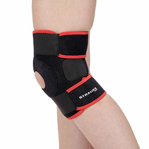 Strauss Adjustable Knee Support Patella, (Free Size)
