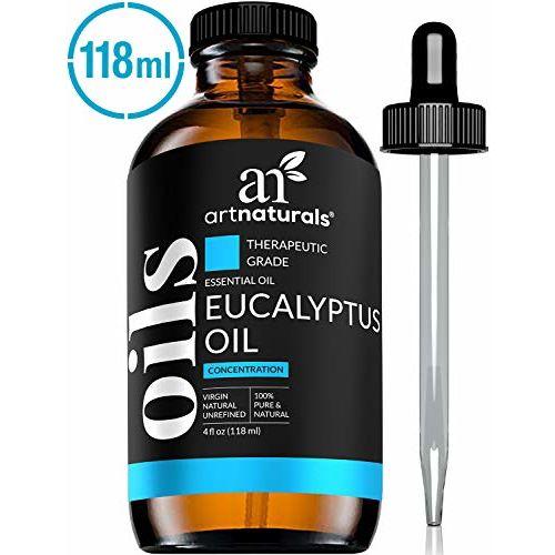 Artnaturals Art Naturals Eucalyptus Essential Oil 4.0 oz 3pc Set - Includes Our Aromatherapy Signature Zen & Chi Blends 10ml Each Therapeutic Grade 100% Pure &