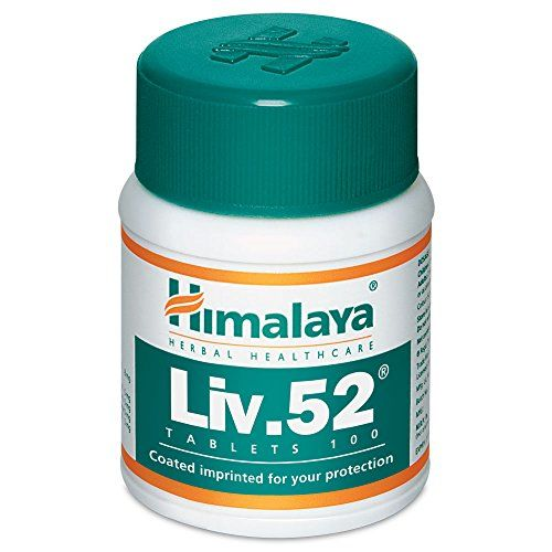 Himalaya Liv.52 Tablets 100 tablets, supplements to reduce fatty live