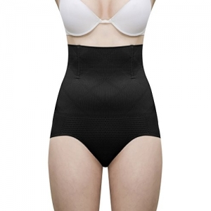 LACE AND ME Black No Roll Down Tummy Control Shapewear