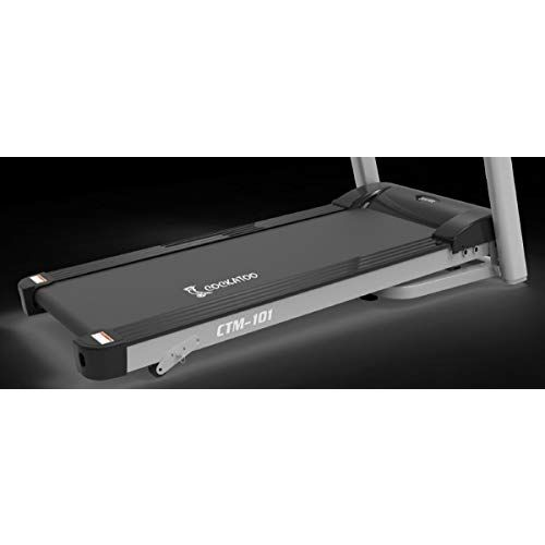 Cockatoo CTM-101 Stainless-Steel Ctm101 Steel Manual Incline 2.5 HP - 5 HP Peak DC Motorised Treadmill for Home Use, Free Installation Assistance, Others