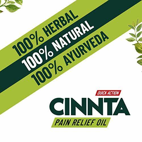 Teachers' Grace Scientific Ayurveda Cinnta Pain Relief Oil, 100ml