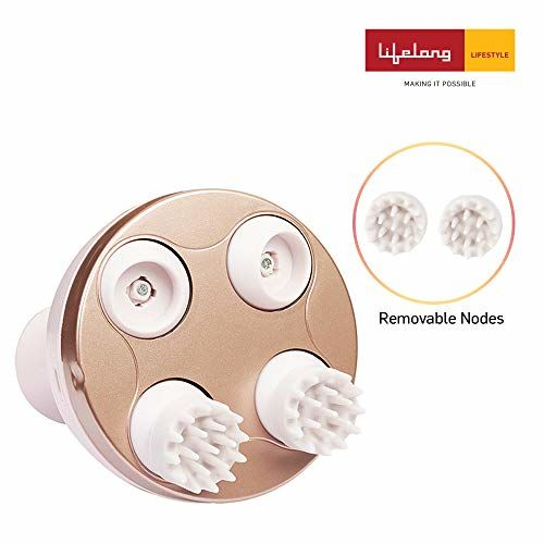 Lifelong LLM225 Rechargeable Head, Scalp and Full Body Pain Relief Massager