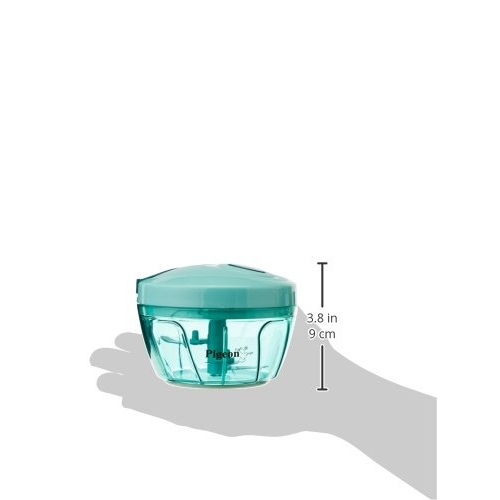 Pigeon by Green Stovekraft New Handy Mini Plastic Chopper with 3 Blades