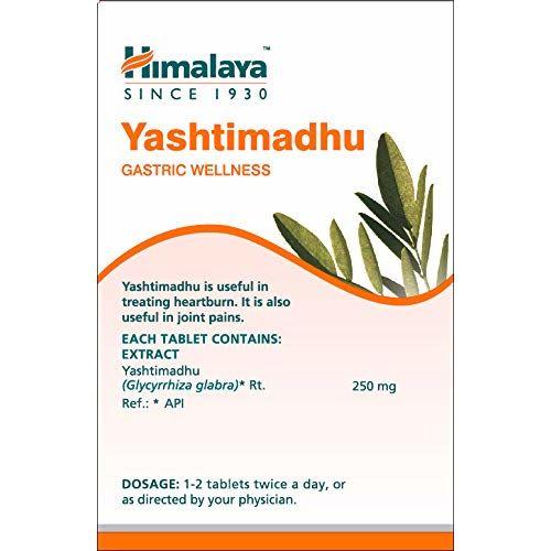 Himalaya Wellness Pure Herbs Yashtimadhu Gastric Wellness - 60 Tablet