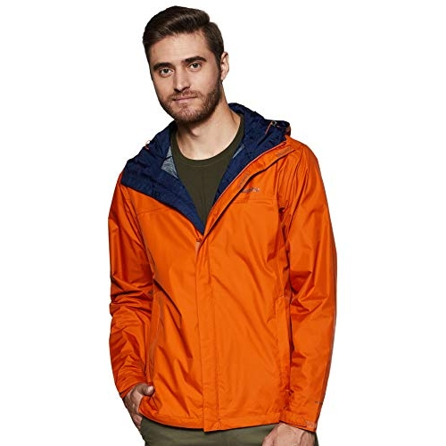 Columbia Orange Watertight Ii Waterproof, Breathable Rain Jacket