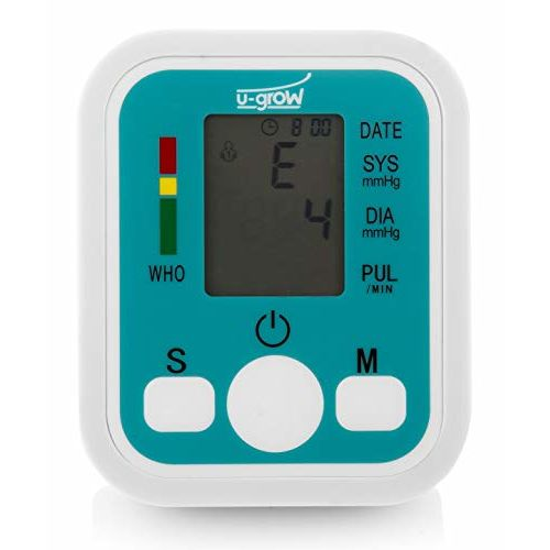 U-Grow Digital Blood Pressure Monitor, USB Compatible