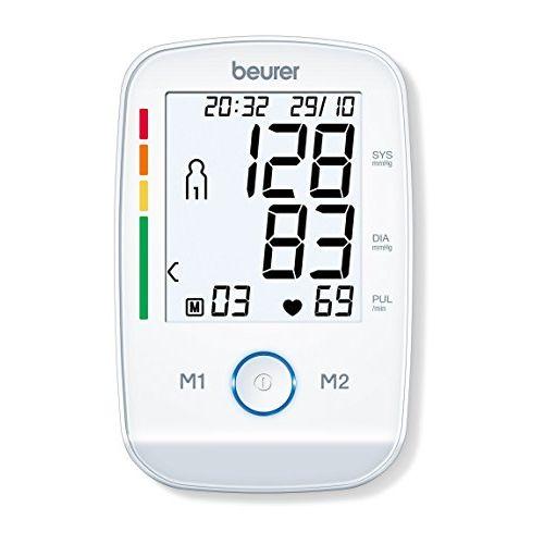 Beurer 658.06 Bm45 Upper Arm Blood Pressure Monitor (White)