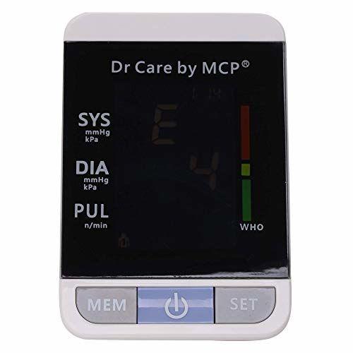 Thermocare Dr. Care Blood Pressure Machine Digital Automatic Upper Arm Talking BP (Black)