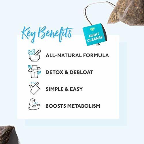 Skinnymint 28 Day Ultimate Teatox Herbal Weight Loss Tea