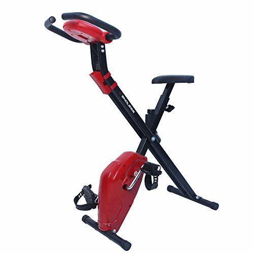 Endless EL 930 Steel Foldable Exercise Strap Bike (Red/Black)