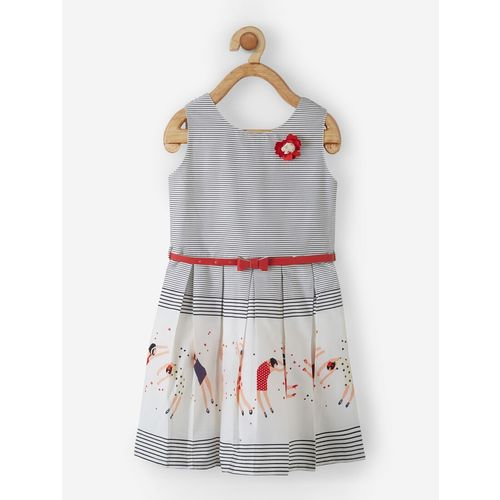 Powderfly red cotton frock
