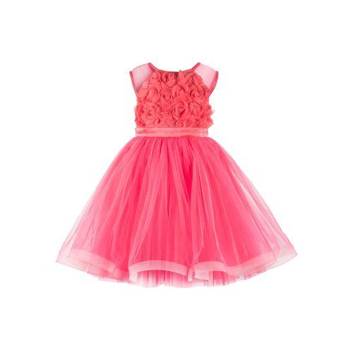 Toy Balloon Kids pink net frock