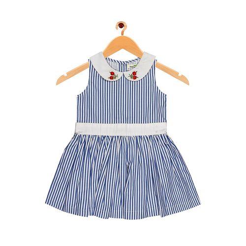 ShopperTree blue cotton frock