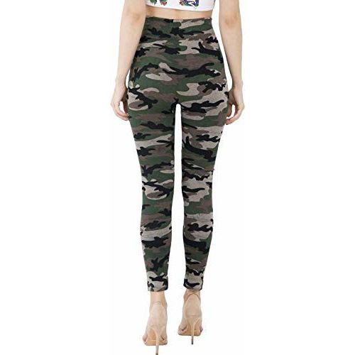 Aglobi Women's/Girl's Army Style Track with Mix Bottom Wear Combo Pack of 2 Free Size (Multi-Colour-p2-7)