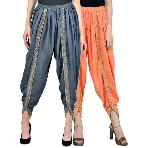 Fabrify multi colored combo dhoti salwar
