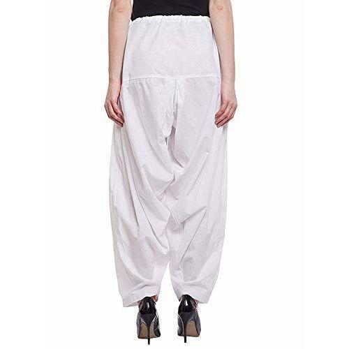 SriSaras Premium Cotton Salwar Combo Pack of 2 (WHITE MAJENTA)