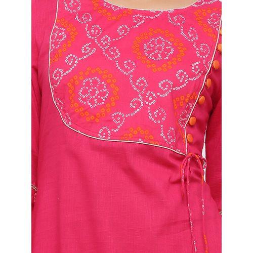 JAPER KURTI bell sleeves a-line set