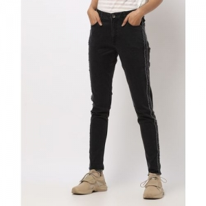 UNITED COLORS OF BENETTON Mid-Rise Distressed Skinny Jeans