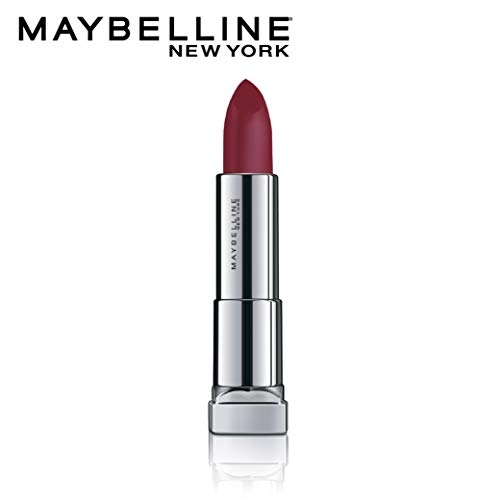 Maybelline New York Color Sensational Powder Matte Lipstick, Plum Perfection, 3.9g