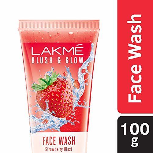 LAKMÉ Lakme Blush & Glow Gel Face Wash, Strawberry Blast, 100g