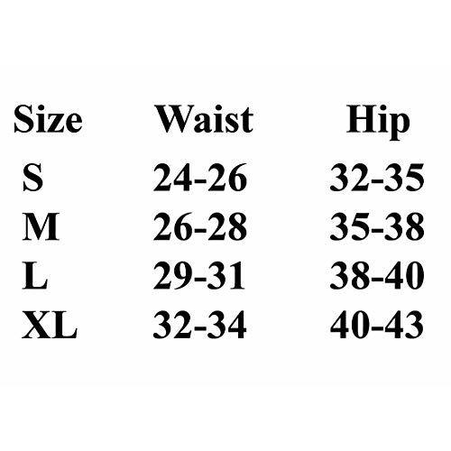 Firstwish Women's Synthetic Boyshorts (Pack of 1) (boyshort4.0_Red, Blue & Black_Medium)